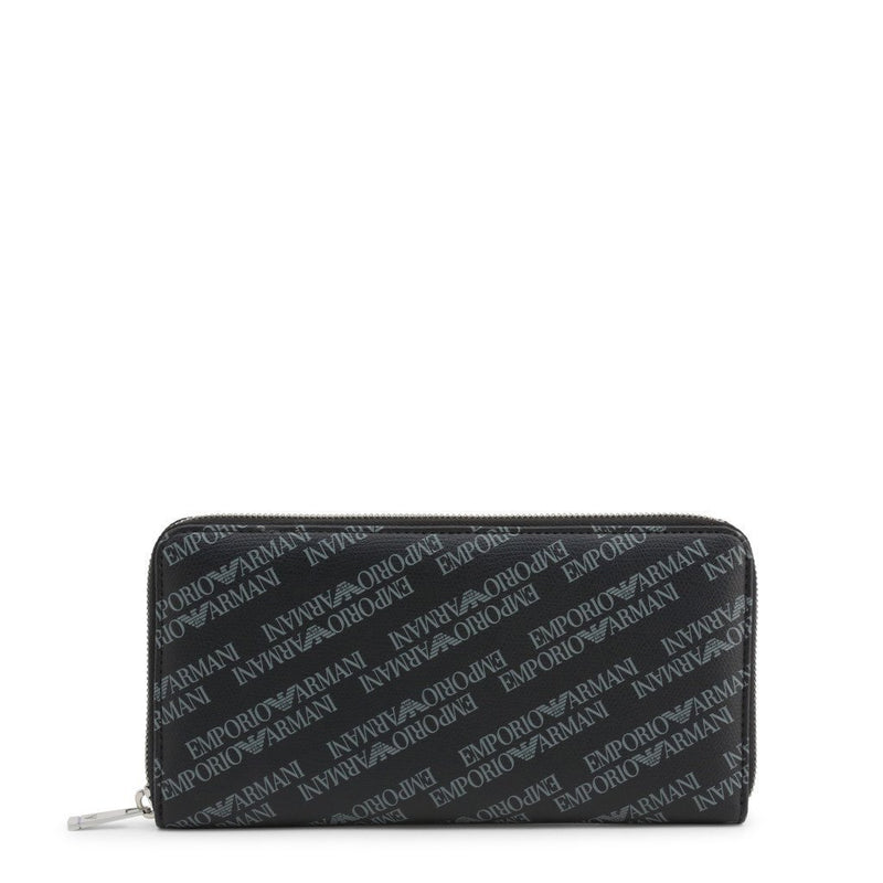 Emporio Armani - Allover Monogram Wallet - Trendy Labels