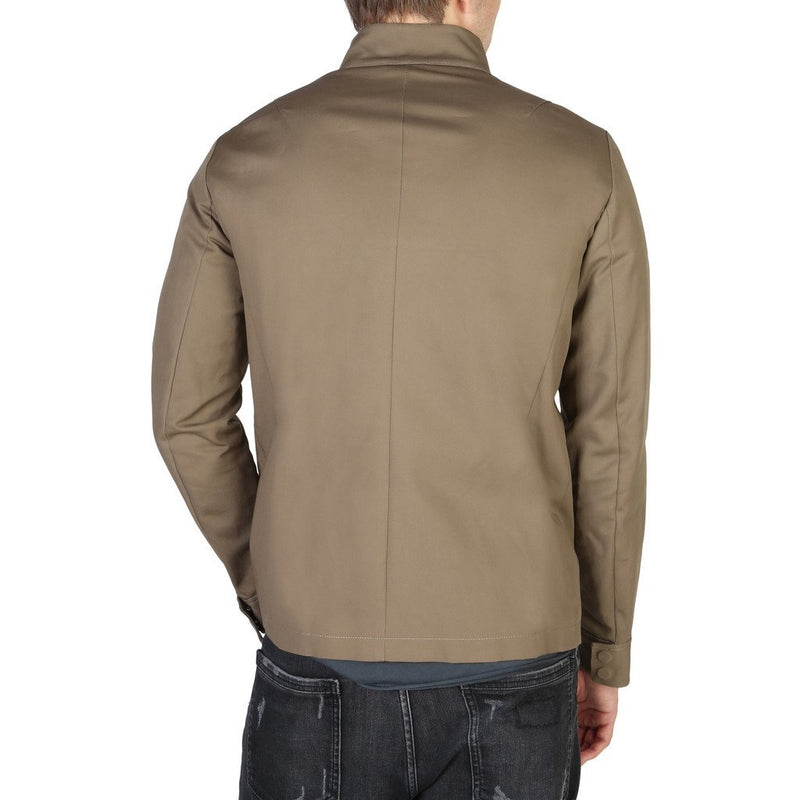 EMPORIO ARMANI BEIGE JACKET - Trendy Labels