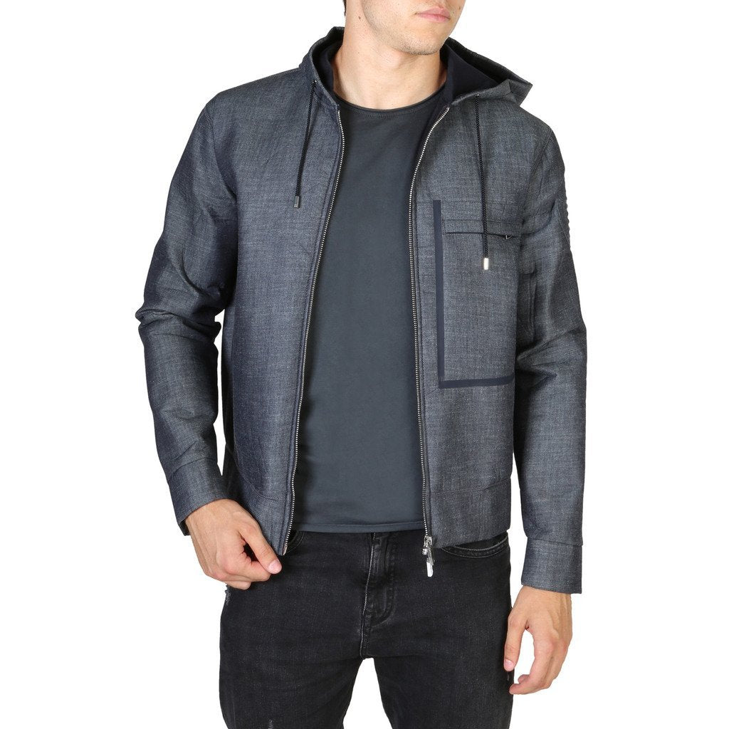 EMPORIO ARMANI HOODED JACKET - Trendy Labels