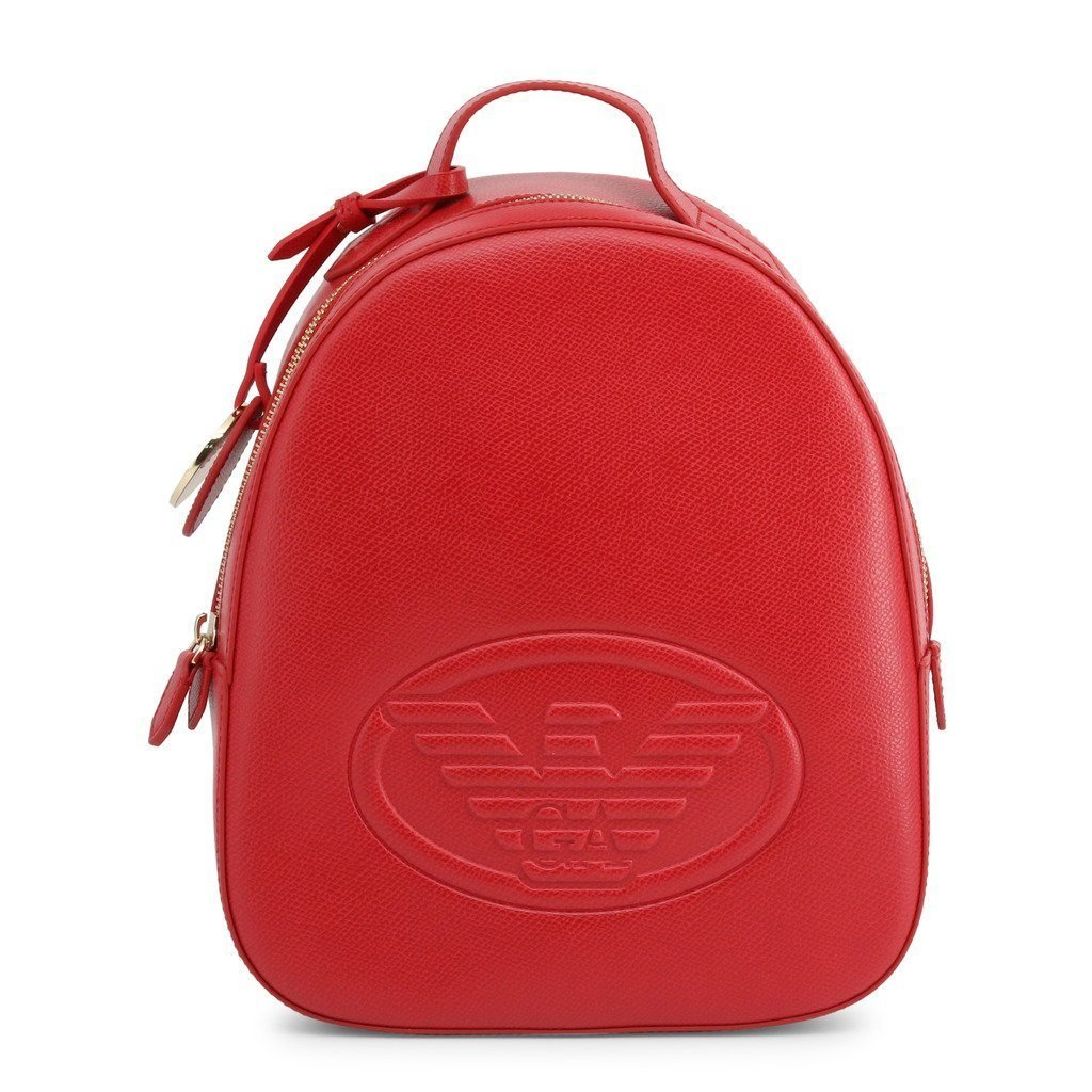 Emporio Armani - Women's Backpack - Red - Trendy Labels