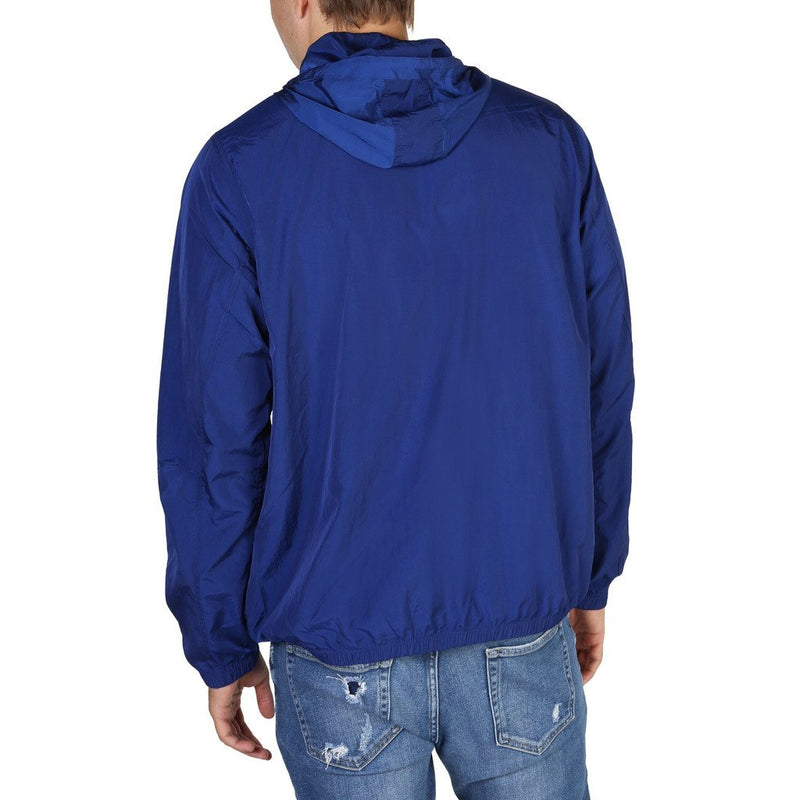 HACKETT BLUE HOODED JACKET - Trendy Labels