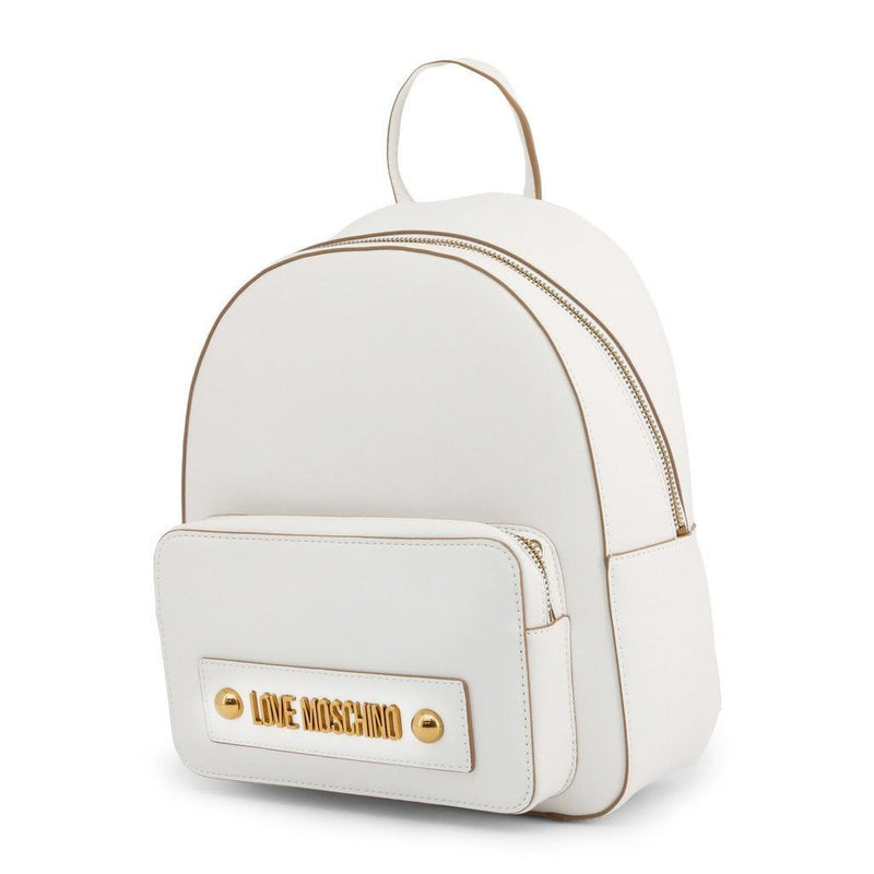 Moschino - Backpack - White - Trendy Labels