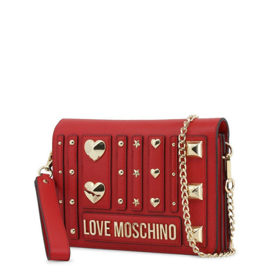 Moschino -Clutch Bag - Red Bags Clutch bags Love Moschino