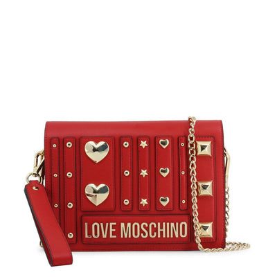 Moschino -Clutch Bag - Red Bags Clutch bags Love Moschino red NOSIZE