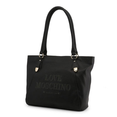 Moschino - SHOPPING BAG - BLACK - Trendy Labels