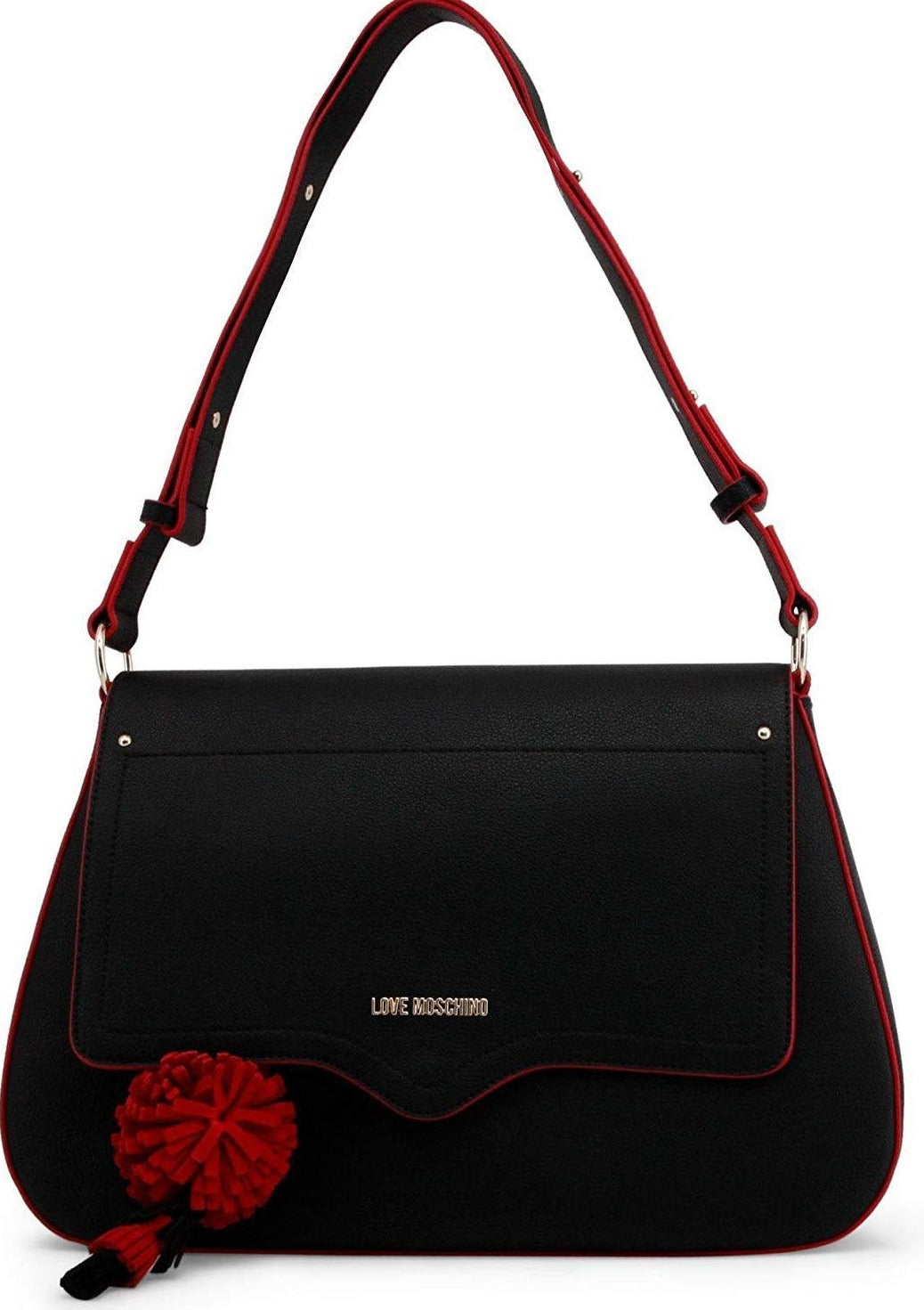 Moschino - SHOULDER BAG - BLACK Bags Shoulder bags Love Moschino