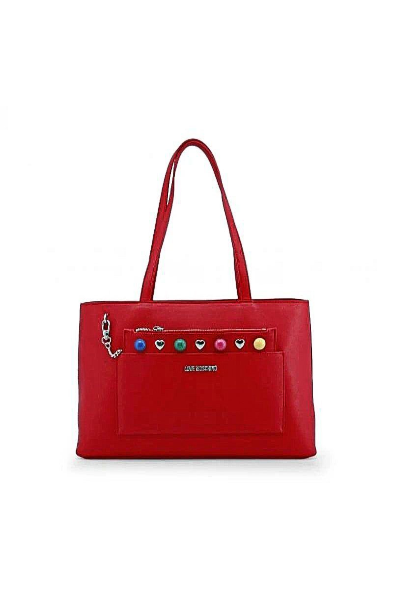 Moschino -SHOULDER BAG - RED - Trendy Labels