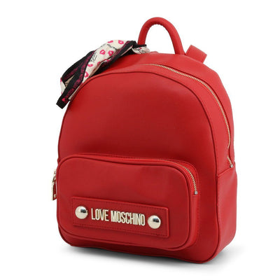 Moschino -Women's Backpack - Red Bags Rucksacks Love Moschino