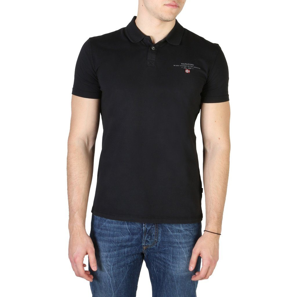Napapijri - POLO SHIRT - BLACK Clothing Polo Napapijri black S