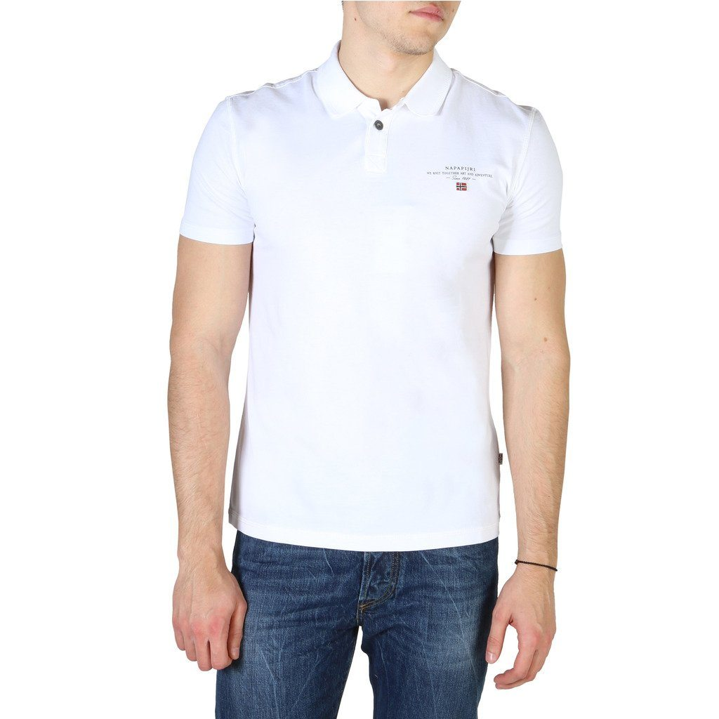 Napapijri - POLO SHIRT - WHITE Clothing Polo Napapijri white S