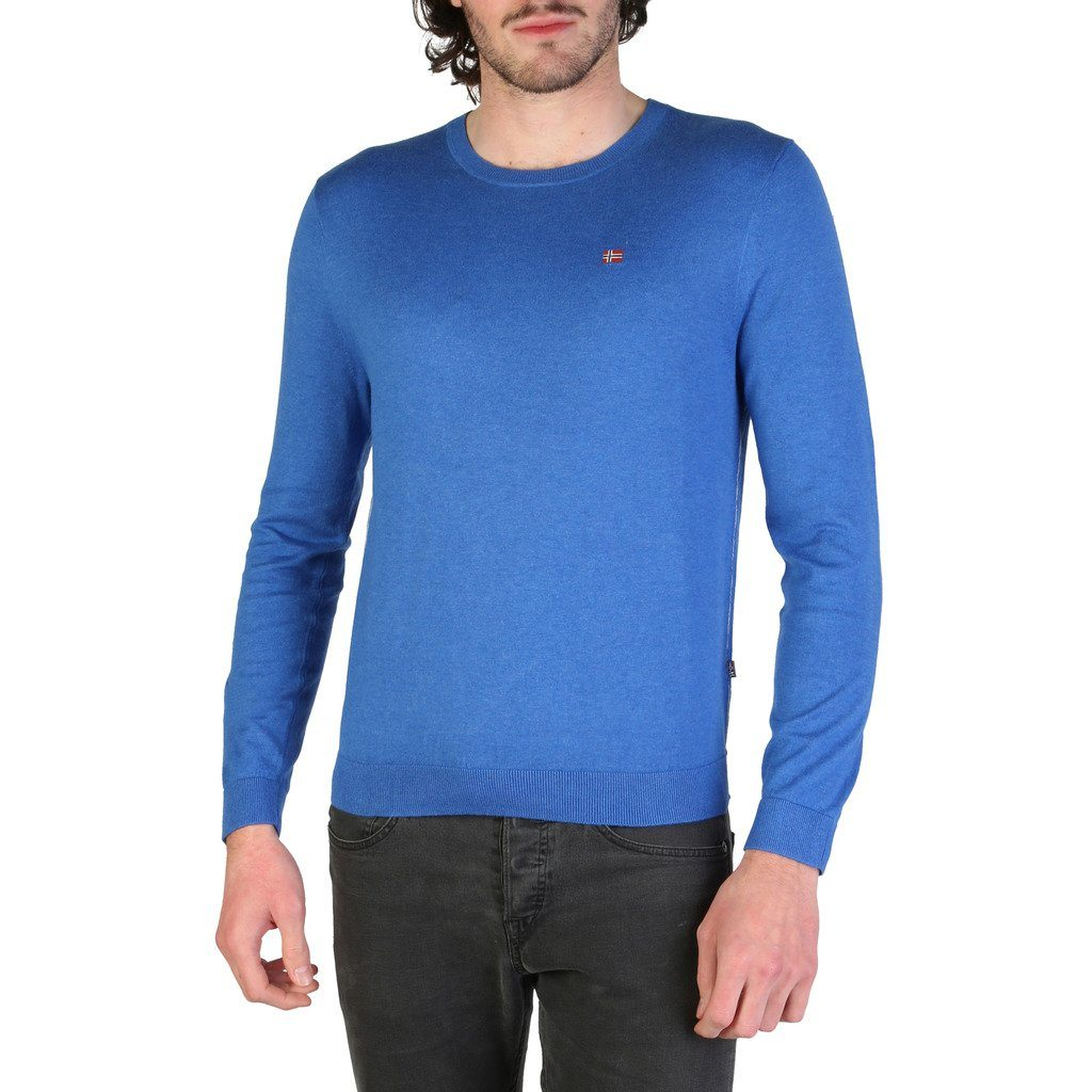 Napapijri - SWEATER - BLUE Clothing Sweaters Napapijri blue S