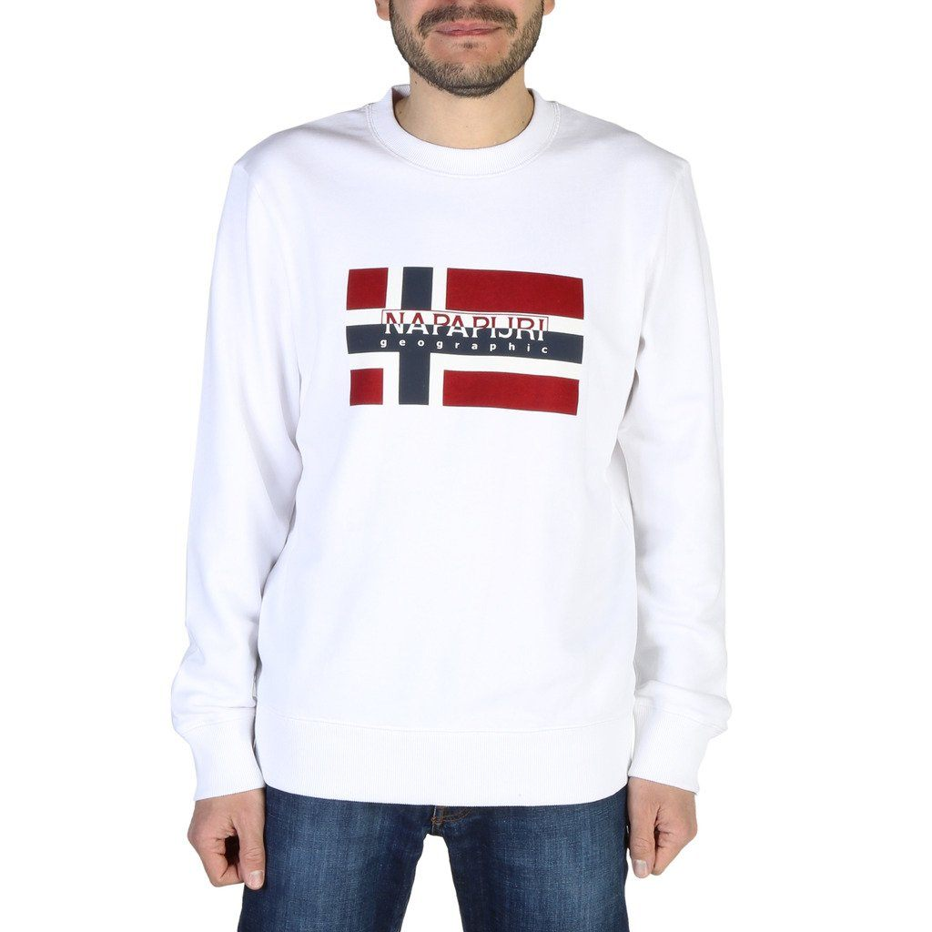 Napapijri - SWEATER Clothing Sweatshirts Napapijri white S