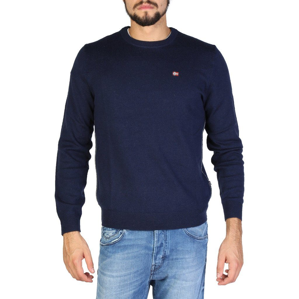 Napapijri - SWEATER - NAVY Clothing Sweaters Napapijri blue S