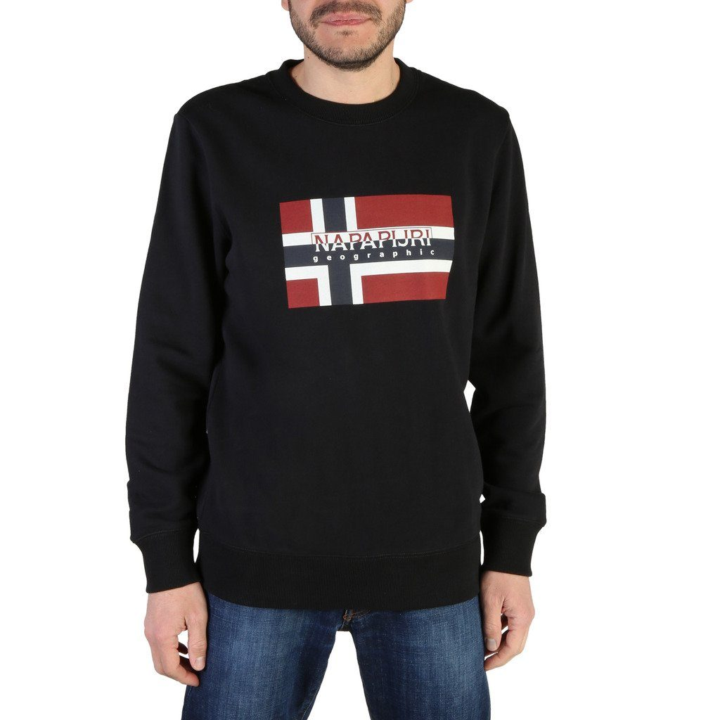 Napapijri - Sweatshirt Clothing Sweatshirts Napapijri black S