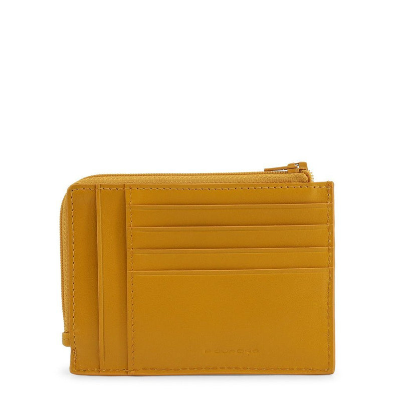 Piquadro - CREDIT CARD HOLDER Accessories Wallets Piquadro yellow NOSIZE