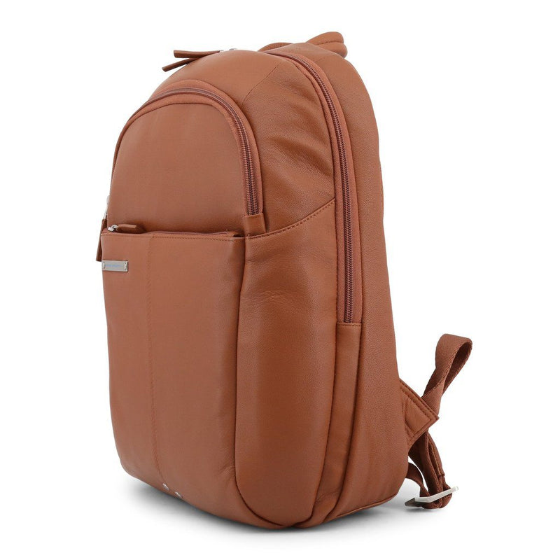 Piquadro - LEATHER BACKPACK Bags Rucksacks Piquadro brown NOSIZE
