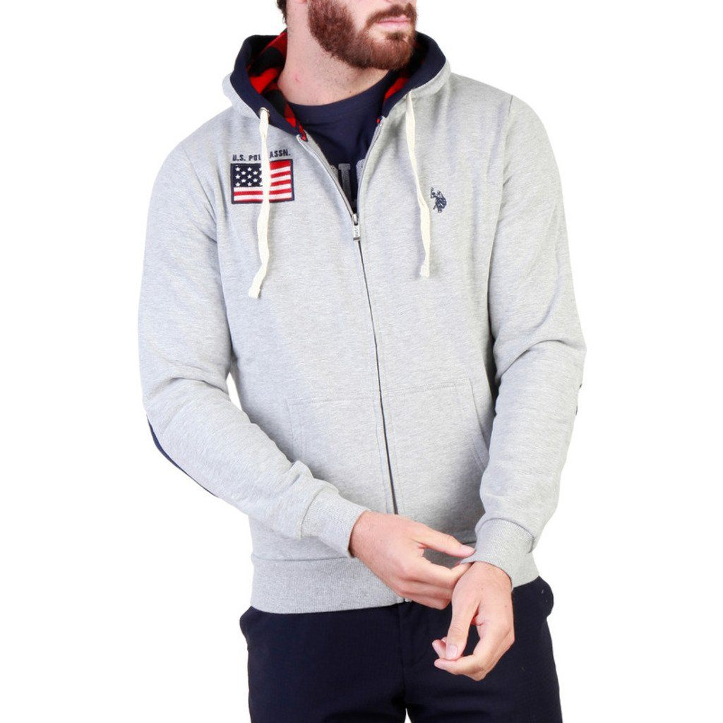 U.S. Polo Assn. - Hoodie Clothing Sweatshirts U.S. Polo Assn. grey S