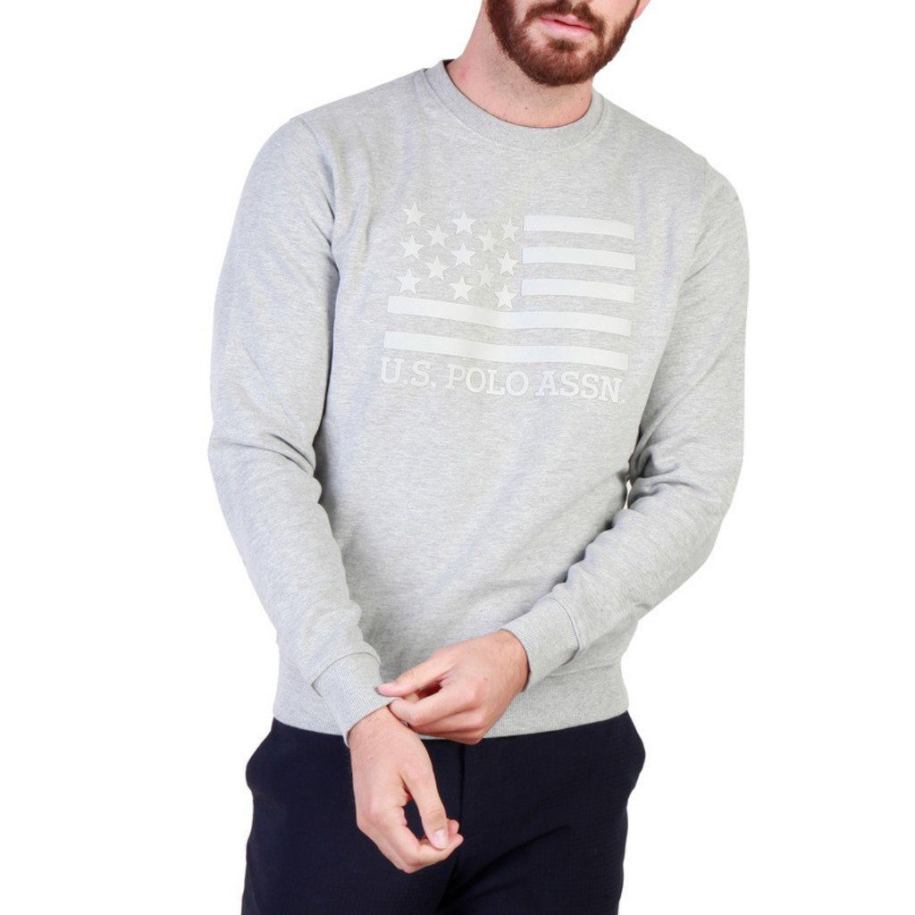 U.S. Polo Assn. - Sweater Clothing Sweatshirts U.S. Polo Assn. grey S