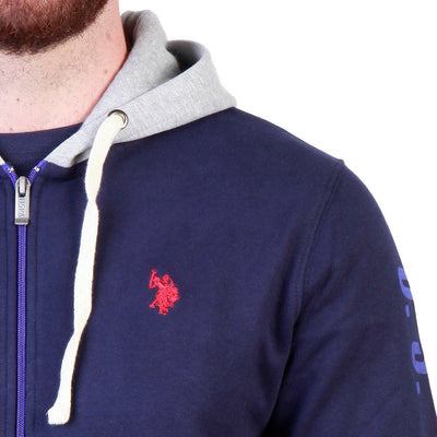 U.S. Polo - Hoodie - Navy Clothing Sweatshirts U.S. Polo Assn.