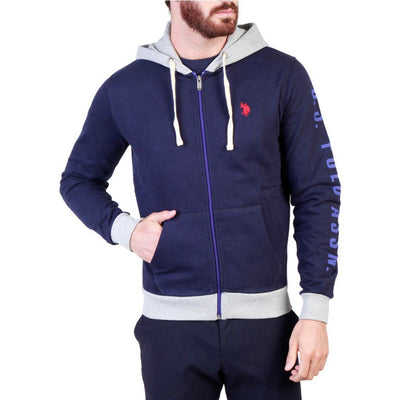 U.S. Polo - Hoodie - Navy Clothing Sweatshirts U.S. Polo Assn. blue S