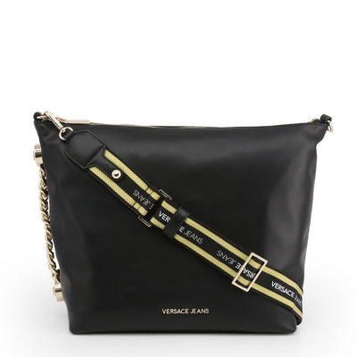 Versace Jeans - Crossbody Bag - Black Bags Crossbody Bags Versace Jeans black NOSIZE