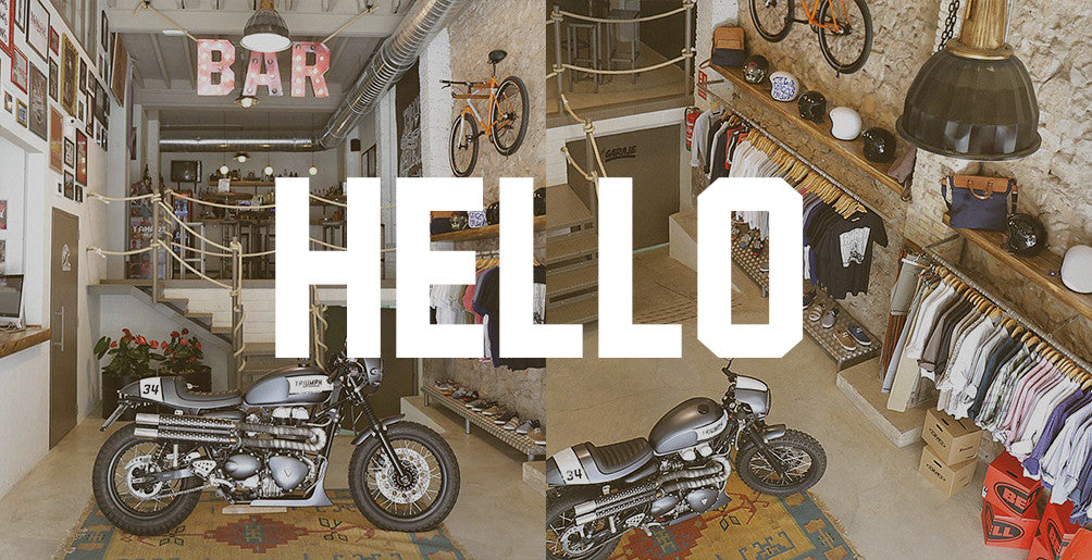 Hello World by Tamarit Motorcycles