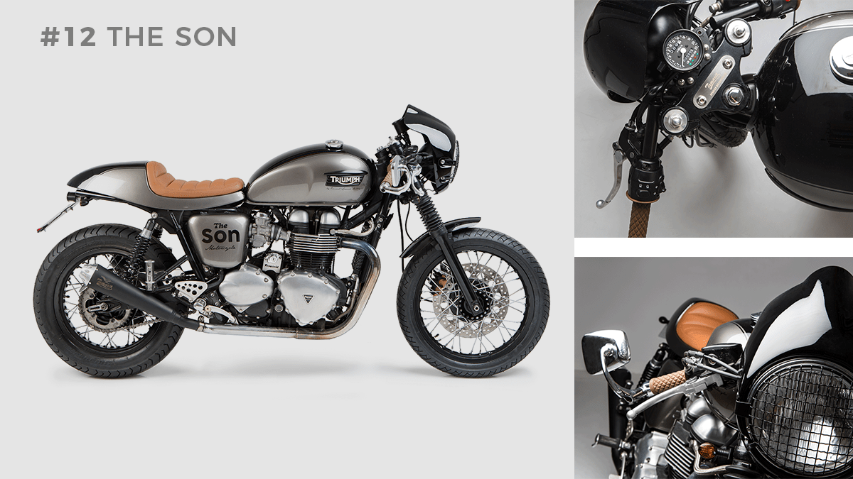 Transformacion Triumph Thruxton The Son