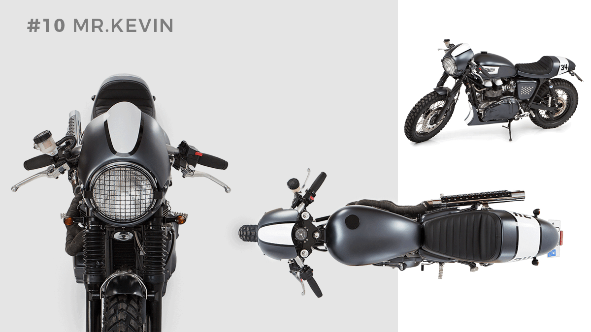 Transformacion Triumph Thruxton Mr Kevin