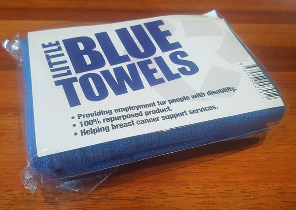 Little Blue Towels - 5 x 2 Towel Travel Pack