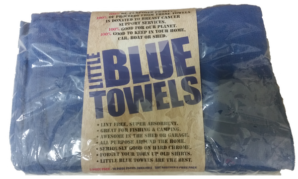 Little Blue Towels 25 Pack - WITH POST