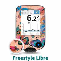 Freestyle Libre Receiver and Transmitter Stickers