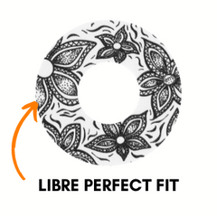 Libre Patch Perfect Fit with Center Cut Out
