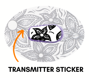 Dexcom G6 Transmitter Sticker Designs