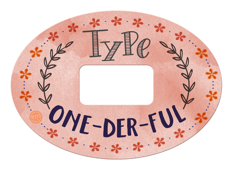Type One-Der-Ful ExpressionMed Dexcom Tapes adhesive