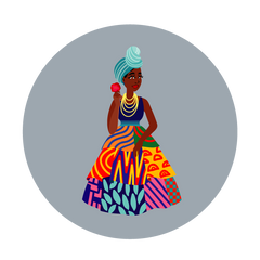 West African Princess CGM Patch