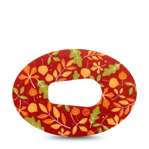 Fall Leaves Dexcom G6 Tape
