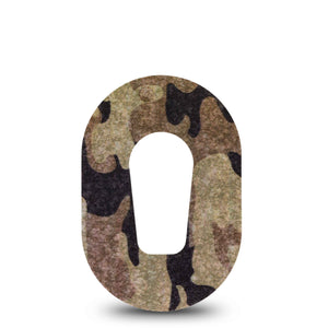 Camo Mini Dexcom G6 Single Tape ExpressionMed