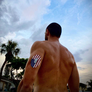 American Flag Dexcom G6 Tape Customer