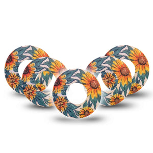 Sunflower Libre Tape 5-Pack
