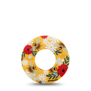 Bees and Flowers Libre Tape