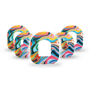 Color Melting Swirl Pod Patch 5-Pack
