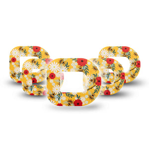 Bees and Flowers Pod Tape 5-Pack