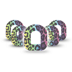 Multicolor Cheetah Print Pod CGM Group Tapes Pack ExpressionMed