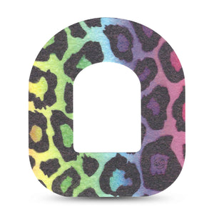 Multicolor Cheetah Print Pod CGM Single Tape ExpressionMed