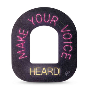 Make Your Voice Heard Pod Patch