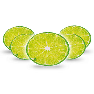 Lime Oval Overpatch 5-Pack