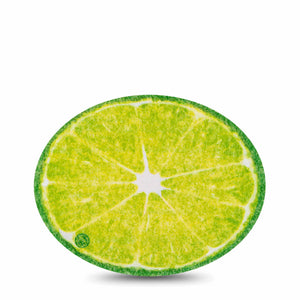 Lime Oval Overpatch