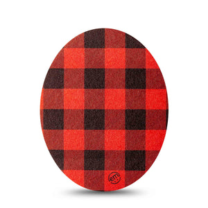 Lumberjack Oval Patch