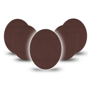 Espresso Skin Tone Oval Tape 5-Pack