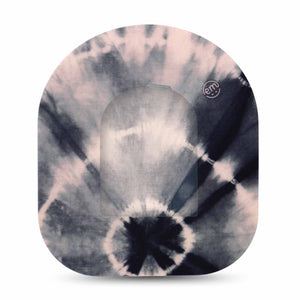 Overcast Tie Dye Pod Transmitter Sticker with Tape